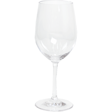 Acrylic White Wine Glass - Clear - Opal and Olive