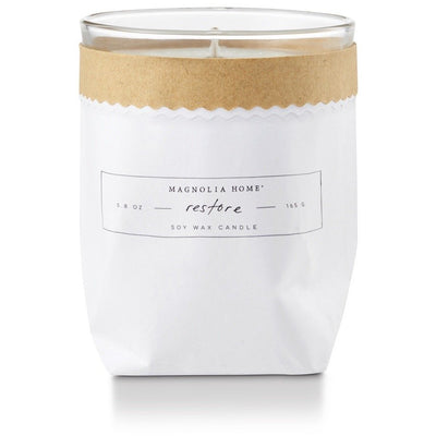 Bagged Candle - Restore - Opal and Olive