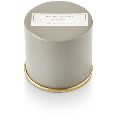 Demi Tin Candle - Gather - Opal and Olive