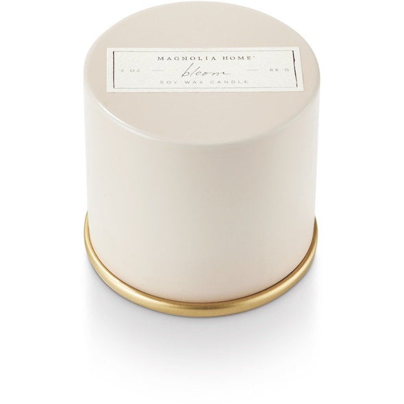 Demi Tin Candle - Bloom - Opal and Olive