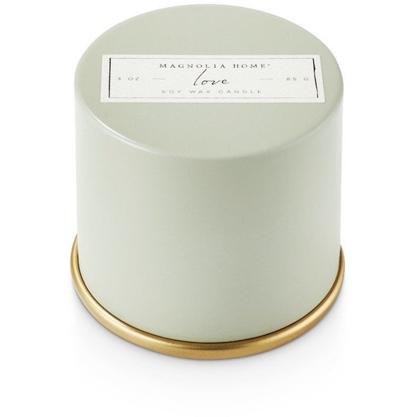 Demi Tin Candle - Love - Opal and Olive