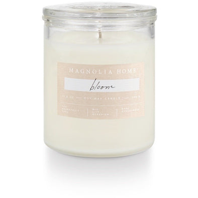 Glass Jar Candle - Bloom