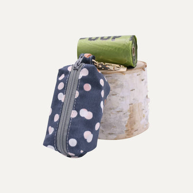 Belladonna Dog Poop Bag Holder-Polka Dots