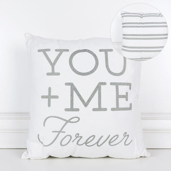 You + Me Forever Pillow