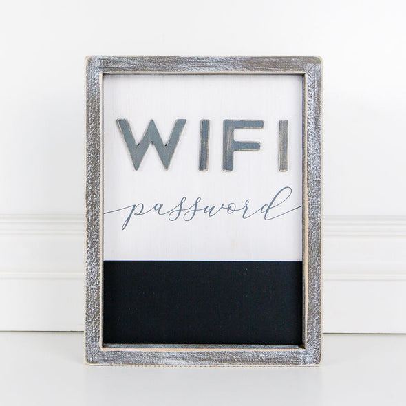 Wifi Chalk Sign