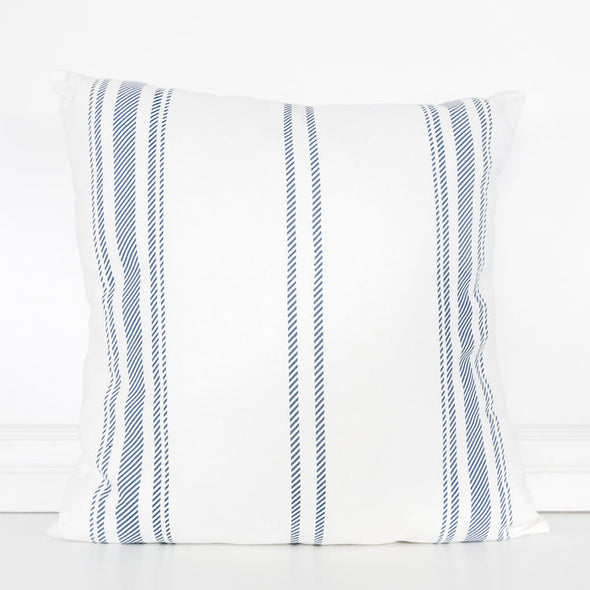 Stripped Linen Pillow