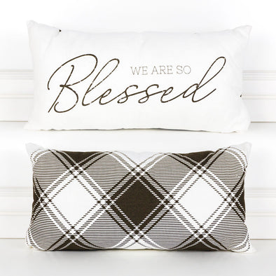 Blessed Reversible Pillow