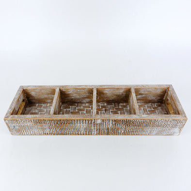 Small Bamboo Beverage Tray