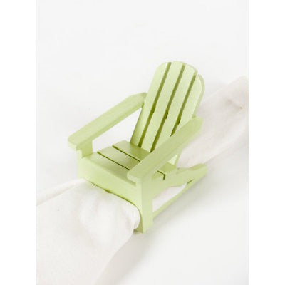 Napkin Ring Adirondack Chair - Green