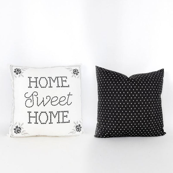 Home Sweet Home Reversible Pillow
