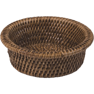 Wine Bottle Coaster - Natural Rattan