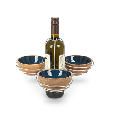 Dip Bowl Serving Set - Opal and Olive