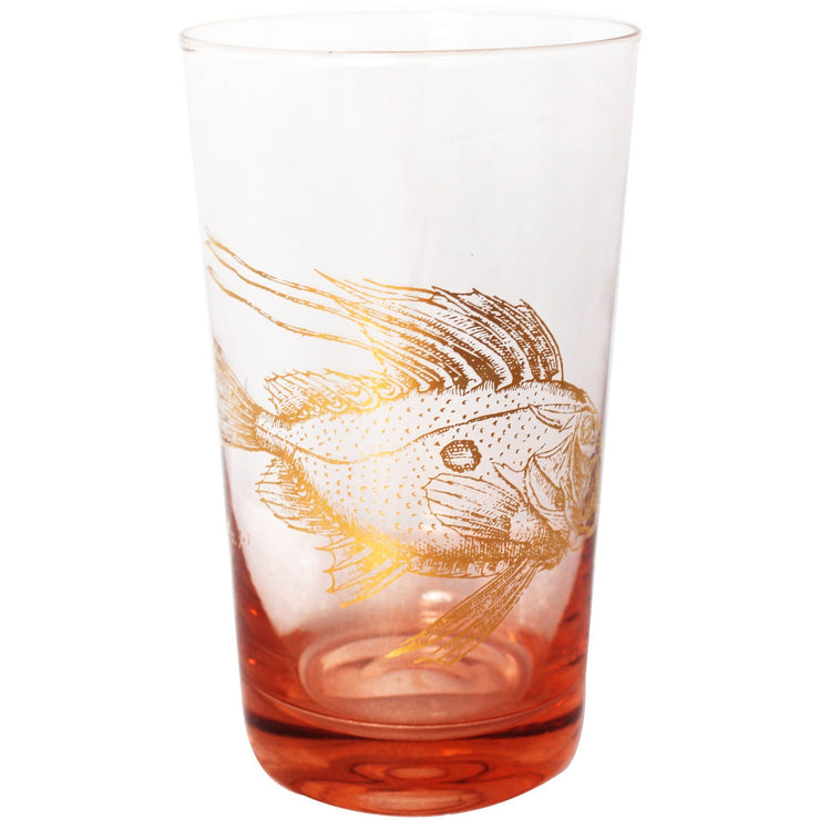 Rose Fish Oceania Highball Glass