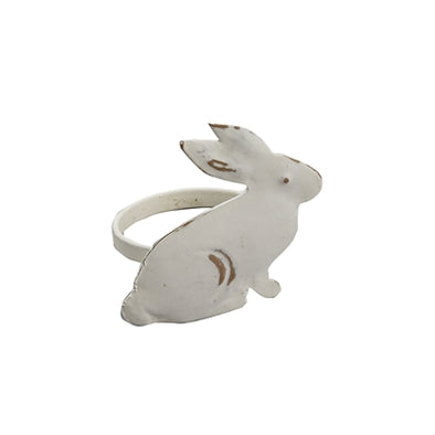 Bunny Napkin Ring - Opal and Olive