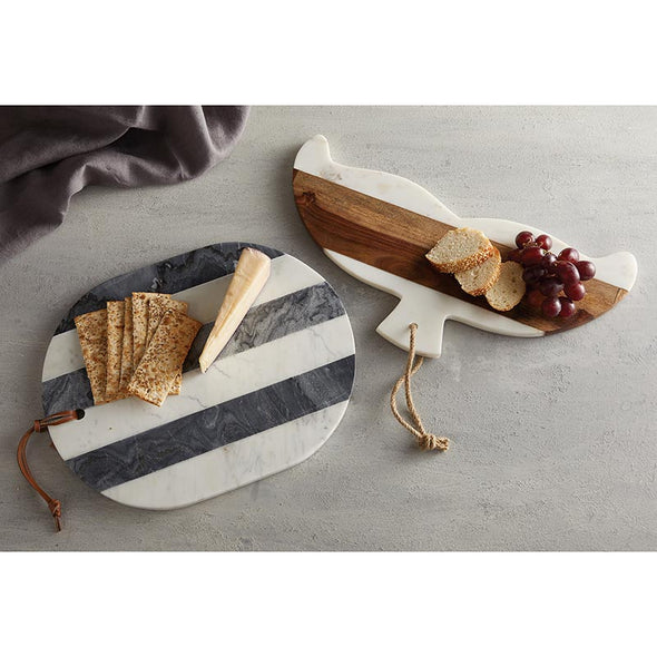 Whale Tail Serving Tray