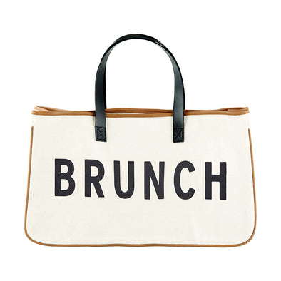 Canvas Tote - Brunch - Opal and Olive