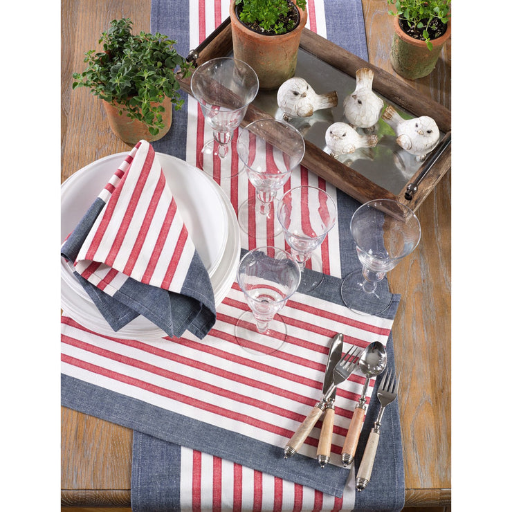 Striped Patriotic Napkin