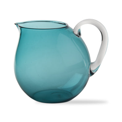 Acrylic Beverage Pitcher - Blue