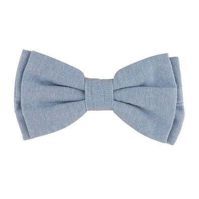 Pet Bow Ties-Chambray