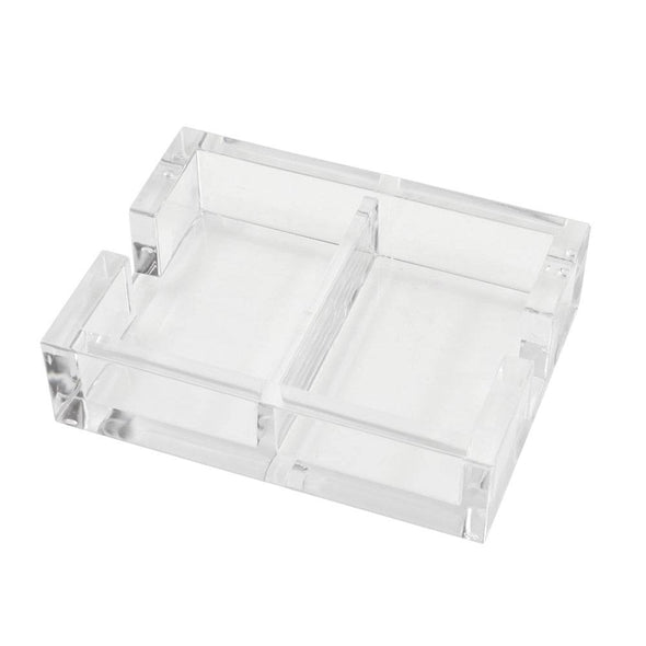 Double Acrylic Playing Card Holder