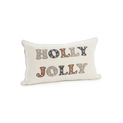 Holly Jolly Pillow 12x20