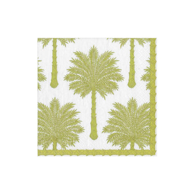 Cocktail Napkin - Grand Palms Green
