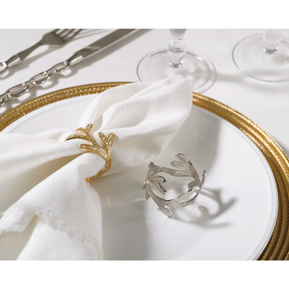 Vine Napkin Ring Gold