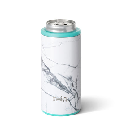 Skinny Can Cooler - Marble Slab 12oz