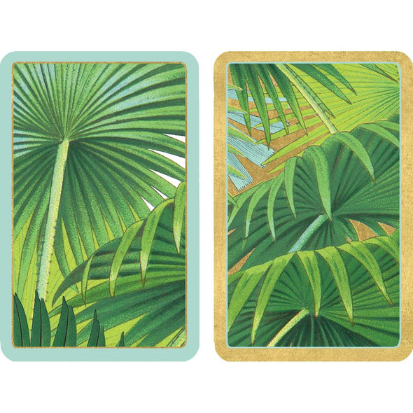 Palm Fronds - Playing Cards Large Print