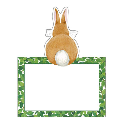 Bunnies & Boxwood - Place Cards