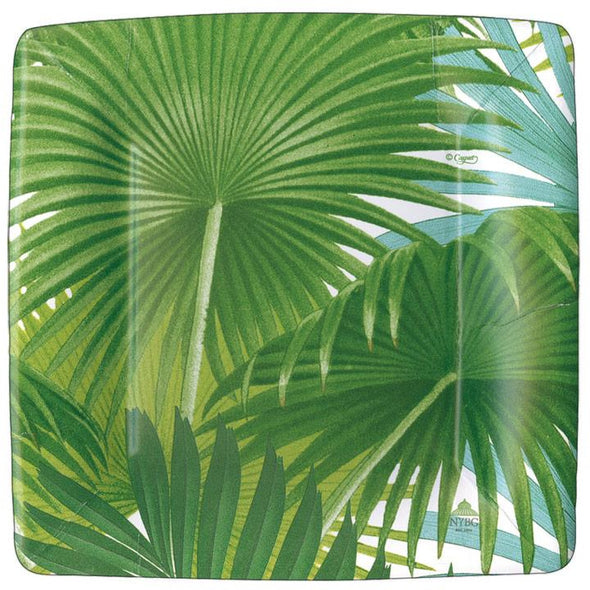 Palm Fronds Salad/Dessert Plates Square