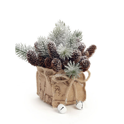 Pinecone Arrangement 7""