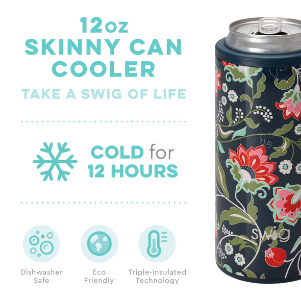Skinny Can Cooler - Lotus Blossom 12oz
