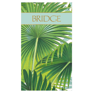 Palm Fronds - Bridge Score Pad