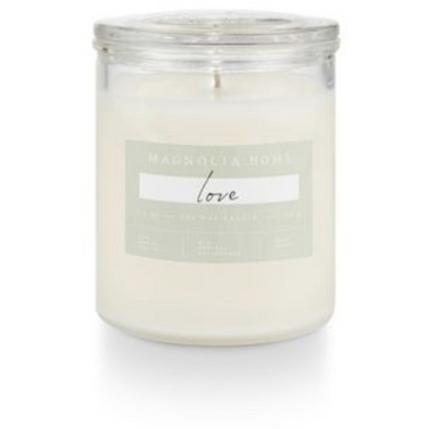 Glass Jar Candle - Love