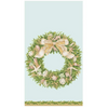In this Design: A nod to décor along the coast, shells, sand dollars and coral mix with greenery and ribbon for an elegant, year-round wreath.