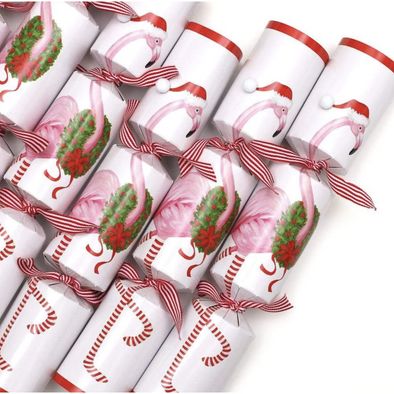 Christmas Flamingo - Christmas Crackers