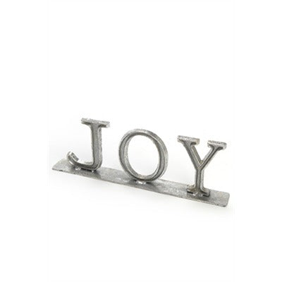 Silver Joy Decoration 12.5""