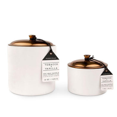 Hygge Candle - 5 oz Tobacco & Vanilla - Opal and Olive