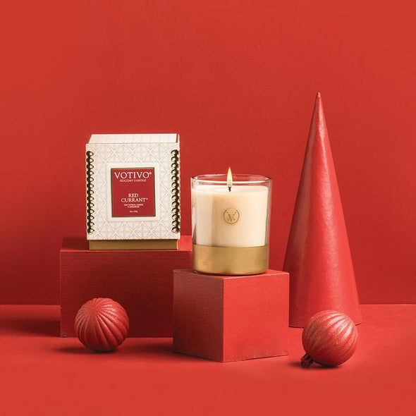 10oz Red Currant Holiday Candle - Opal and Olive