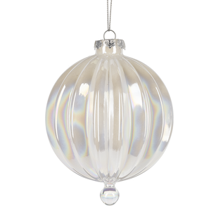 Iridescent Ball Ornament