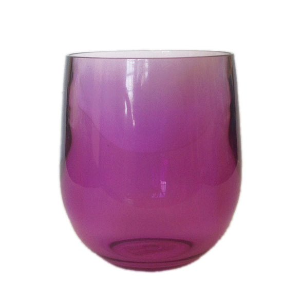 Acrylic Tumbler - Amethyst - Opal and Olive