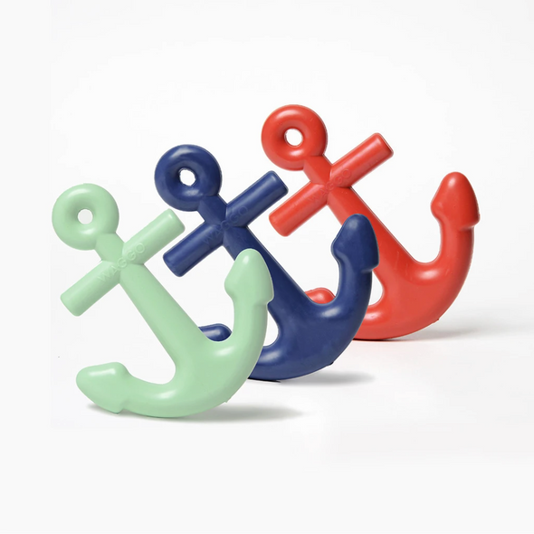 Anchors Aweigh Rubber Dog Toy (Large) - Mint