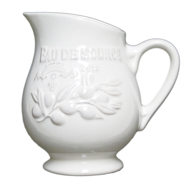 Cuisine de Provence Pitcher - Opal and Olive