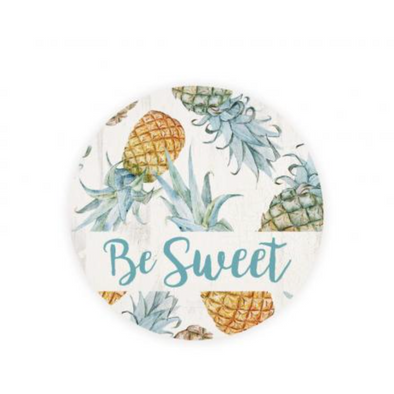 Be Sweet Pinapple Car Coaster