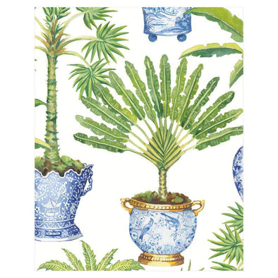 Potted Palms - Bridge Tallies Package 12 In