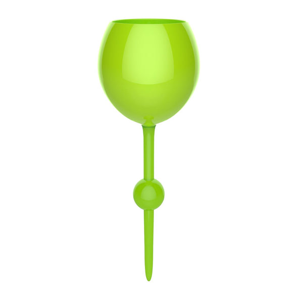 Sea Green Acrylic Floating Wine Glass