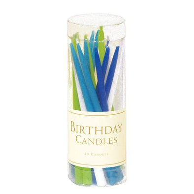 Birthday Candles - Ocean Blues - 20 Pcs
