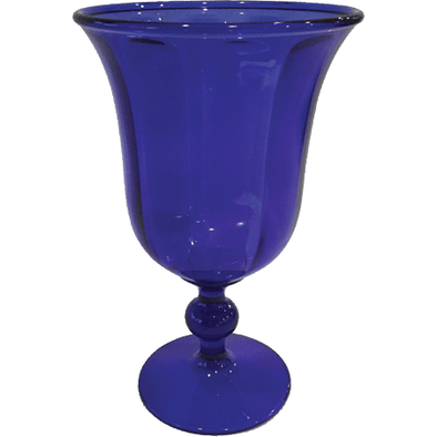 Acrylic Goblet - Cobalt - Opal and Olive