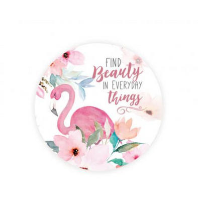 Find Beauty Car Coaster